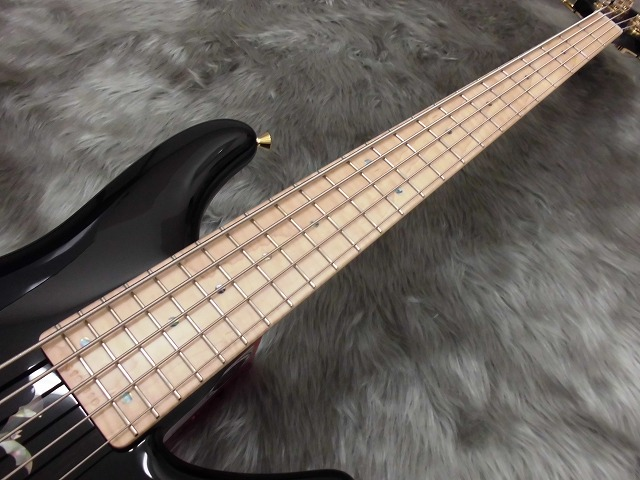 NB5M SL-ASH/STDの指板画像