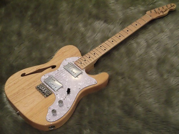 Japan Exclusive Series Classic 70s Tele Thinline Maple Fingerboard