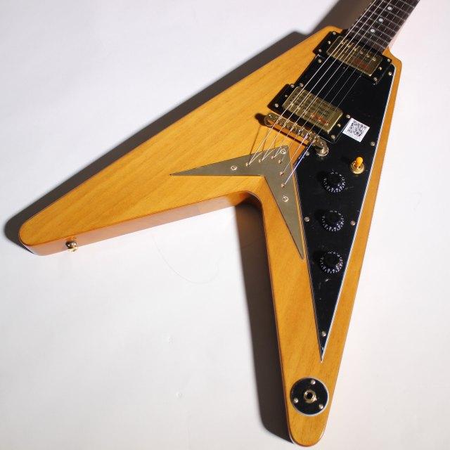 Ltd ED Korina Flying-Vのボディトップ-アップ画像