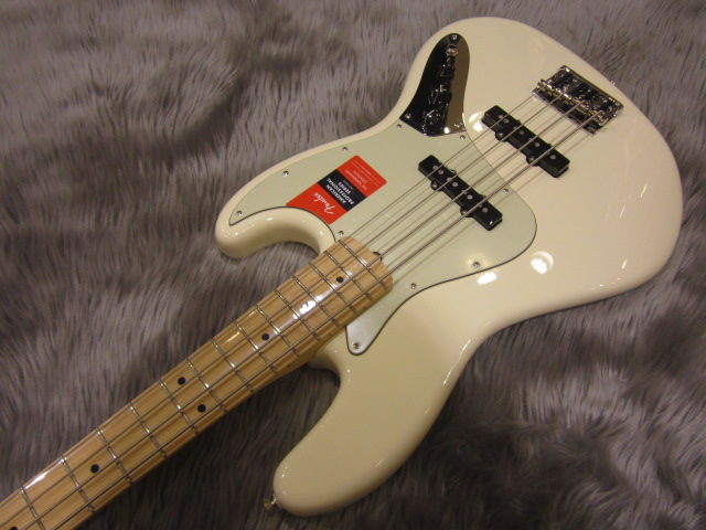 American Pro Jazz Bass Maple Fingerboardの全体画像(縦)