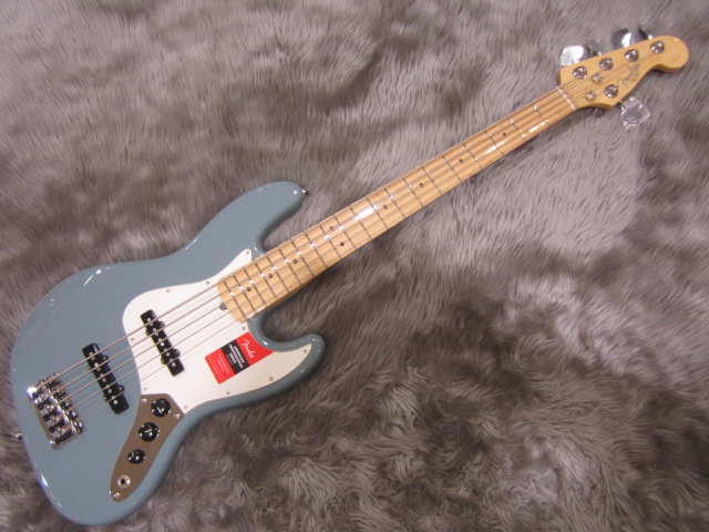 American Pro Jazz Bass V Maple Fingerboardのボディバック-アップ画像