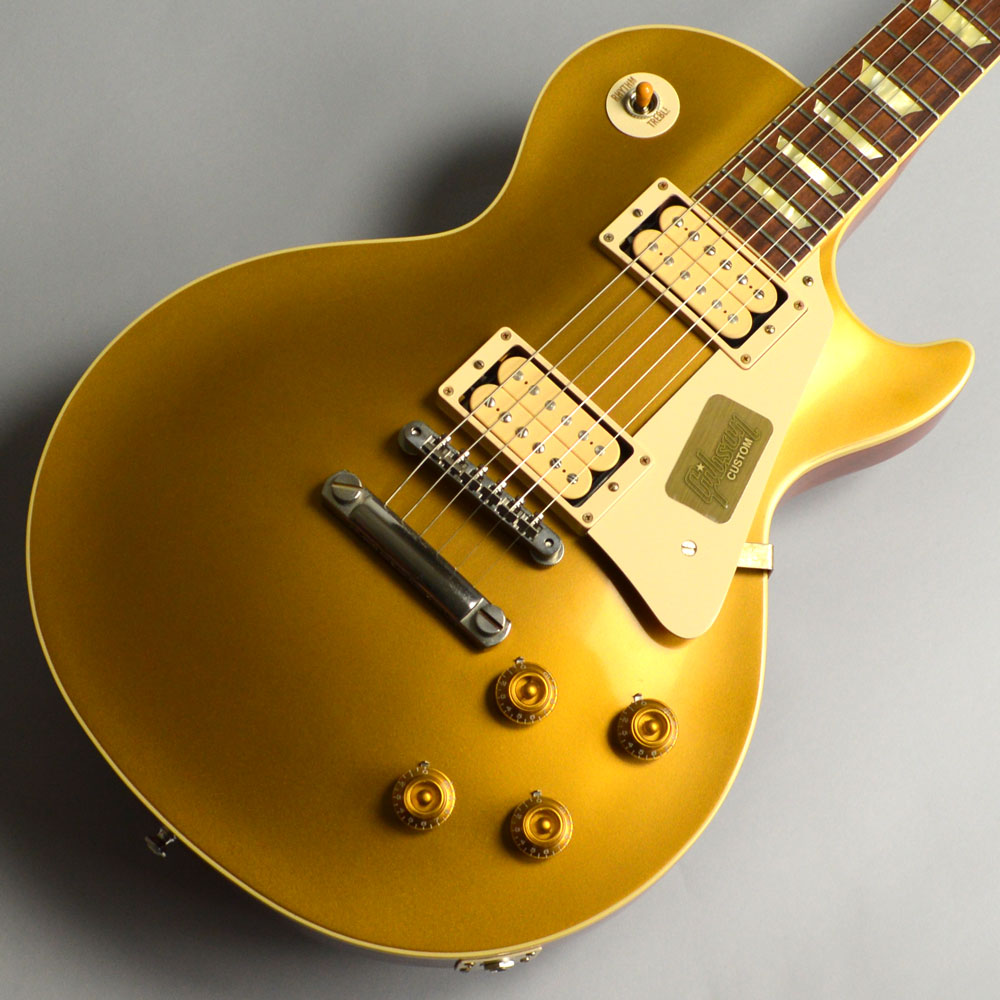 Standard Historic 1957 Les Paul Gold Top VOSのボディトップ-アップ画像
