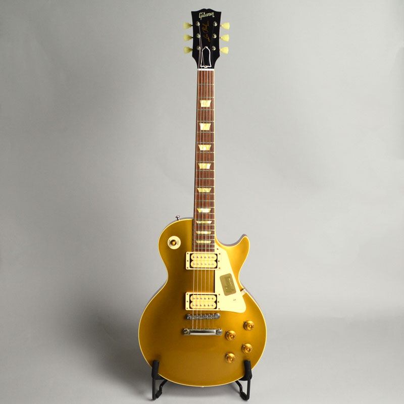Standard Historic 1957 Les Paul Gold Top VOSの全体画像(縦)