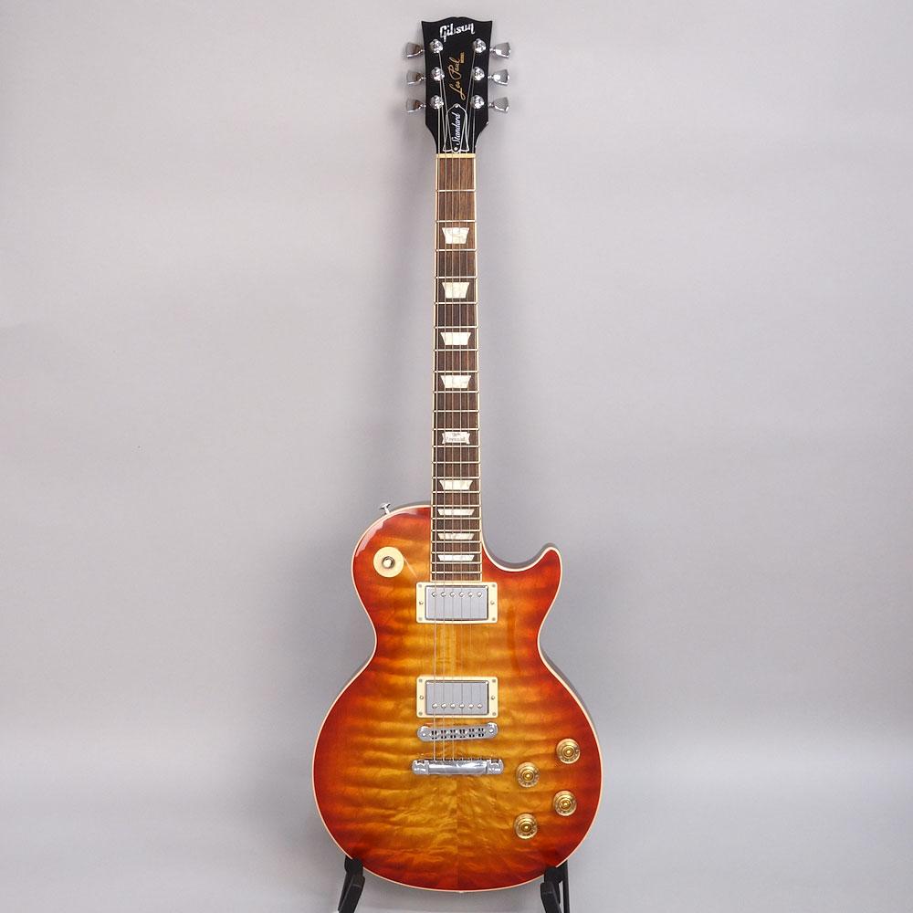 Gibson Les Paul Standard Premium Quilt 2014 Heritage Cherry Sunburst Perimeterの全体画像(縦)