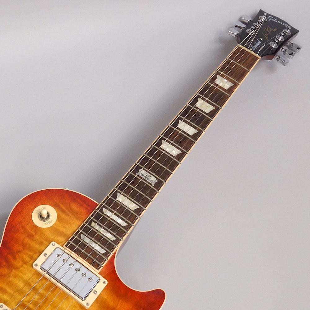 Gibson Les Paul Standard Premium Quilt 2014 Heritage Cherry Sunburst Perimeterの指板画像