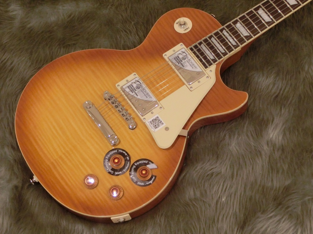 Les Paul Standard+TOP PRO HBのボディトップ-アップ画像