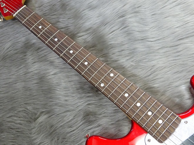 Japan Exclusive Series Classic 70s Mustang Matching Headcap Rosewood Fingerboardの指板画像