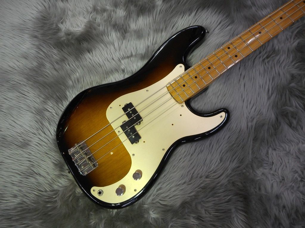 50s Precision Bass(JIMMY WALLACE搭載)のボディトップ-アップ画像
