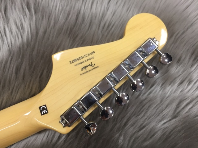 VINTAGE MODIFIED JAZZMASTERの指板画像