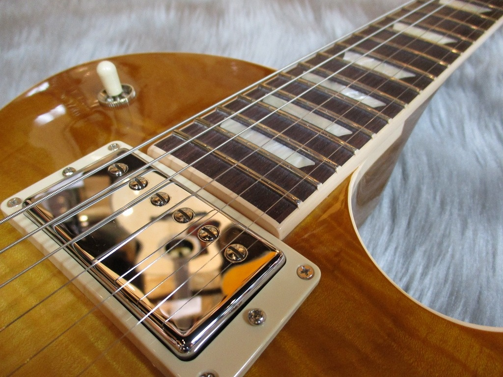 LesPaul Standard T 2017 Honey Burst – Gibson (Guitar)のボディバック-アップ画像