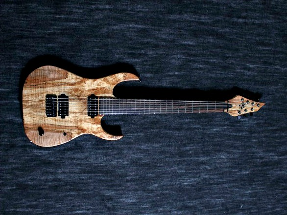 Cobra Special7 HT/T Spalted Maple Top 4 over 3 Headの全体画像(縦)