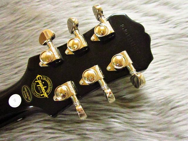 Les Paul ES PROのヘッド裏-アップ画像