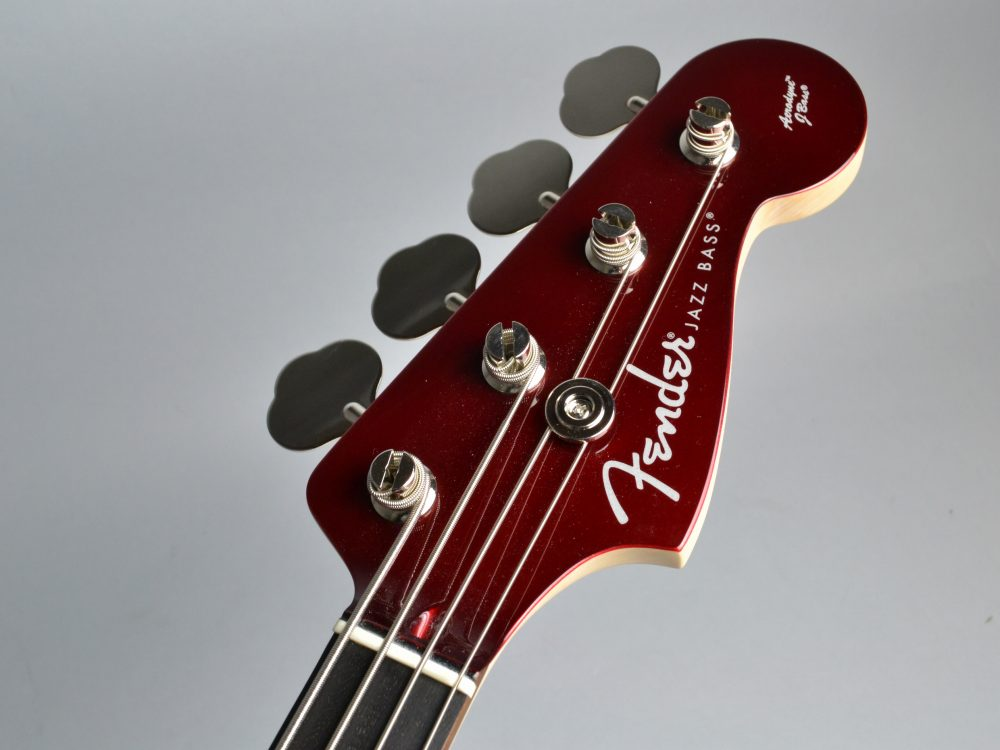 Japan Exclusive Aerodyne Jazz Bassのヘッド画像