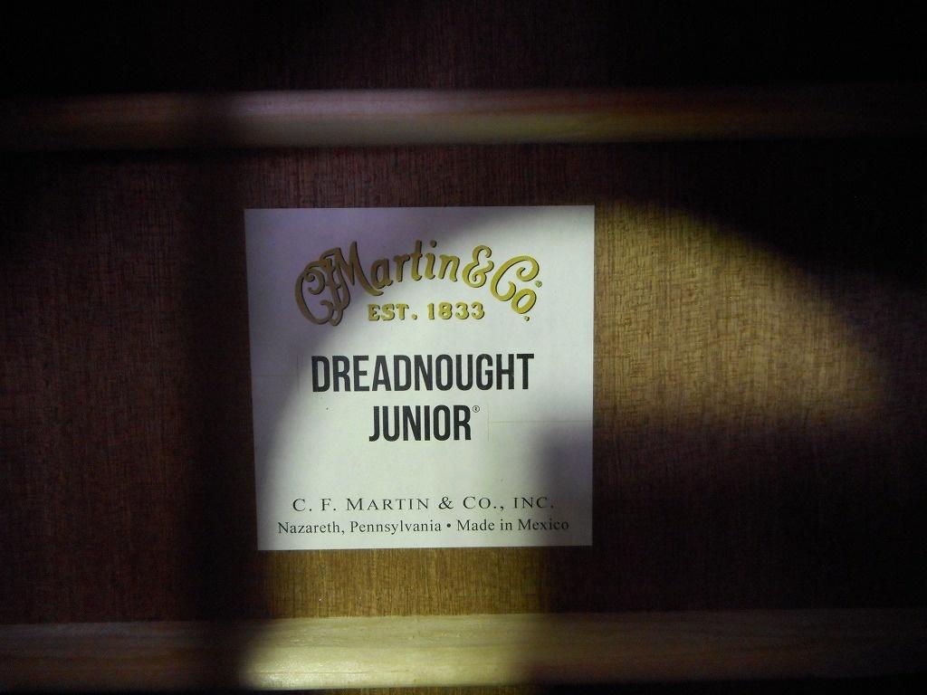 Dreadnought Junior2 SAPELEの指板画像