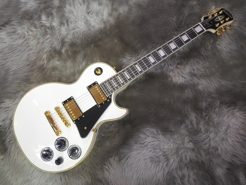 Les Paul Custom Pro (Alpine White)