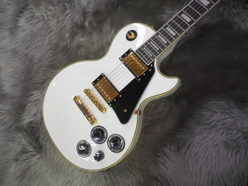 Les Paul Custom Pro (Alpine White)のボディトップ-アップ画像