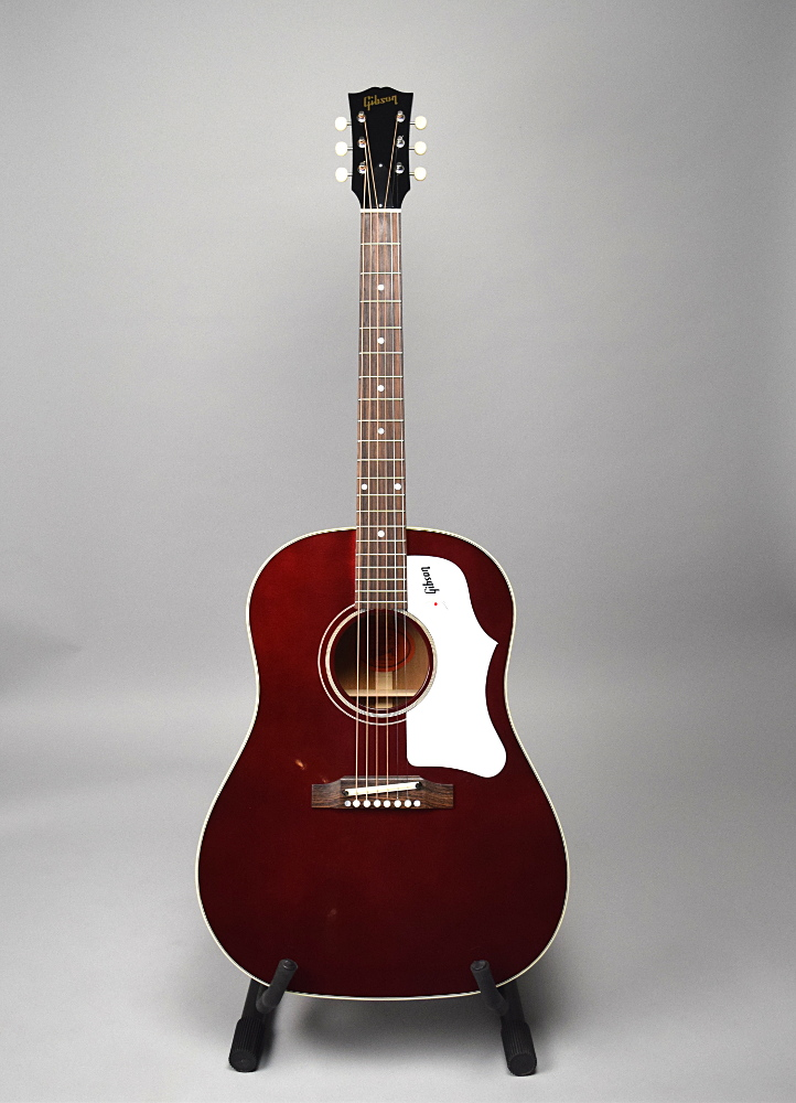 1960's J-45 Wine Red Adjustable Bridgeの全体画像(縦)