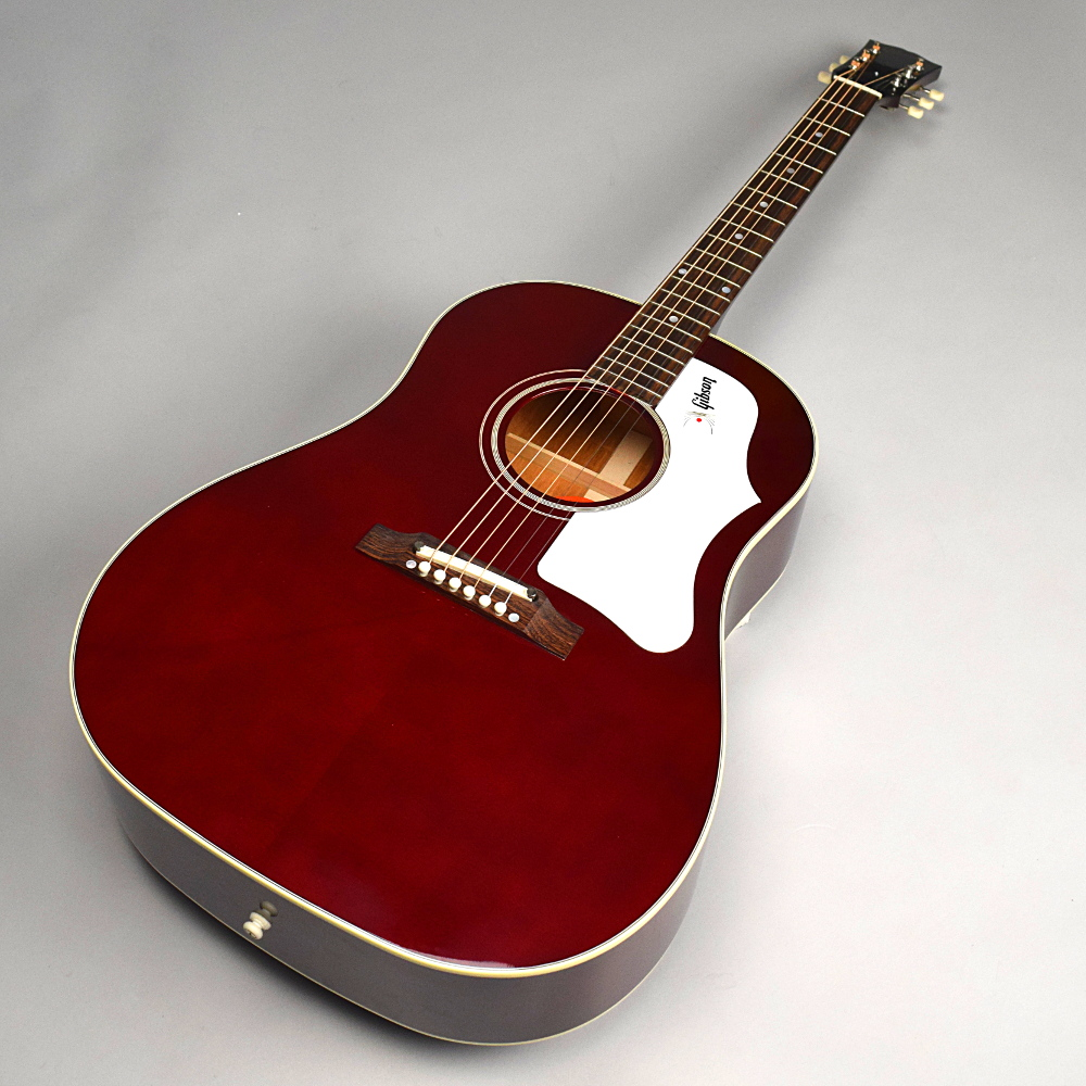 1960's J-45 Wine Red Adjustable Bridge