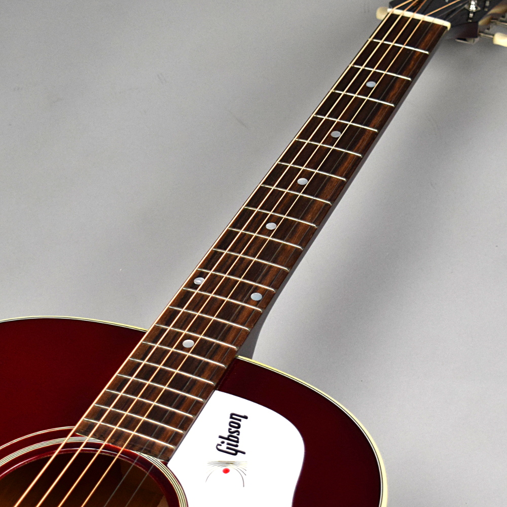 1960's J-45 Wine Red Adjustable Bridgeの指板画像
