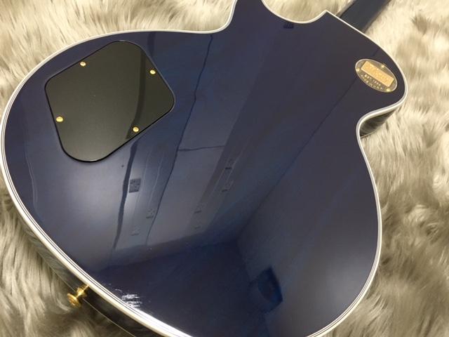 Les Paul Custom 3A Quilt M2M AQUA BLUEのボディバック-アップ画像