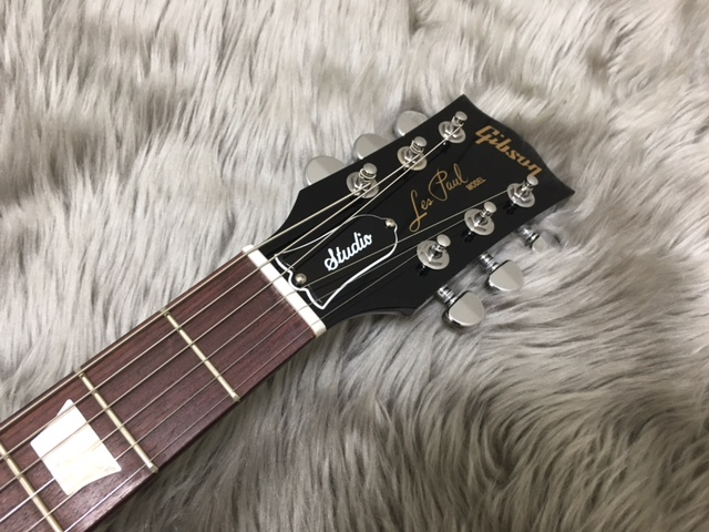 Les Paul Studio T 2017 Ebonyのヘッド画像