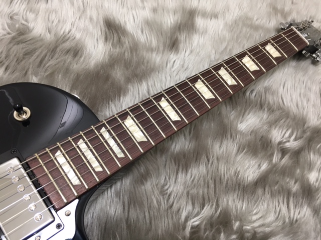 Les Paul Studio T 2017 Ebonyの指板画像