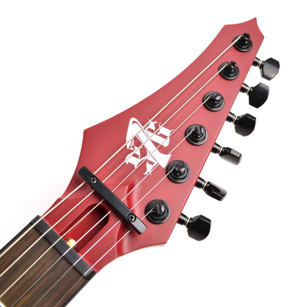 Cobra JS6/Blood redのヘッド裏-アップ画像
