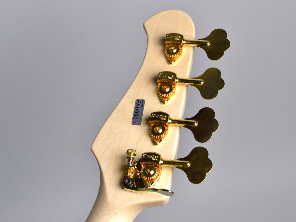 XPJ-1T 4-stringのヘッド裏-アップ画像