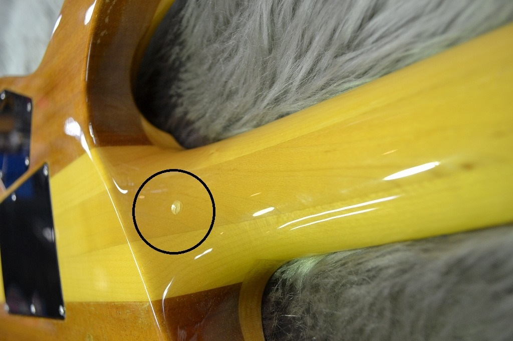 HORIZON-QMの指板画像