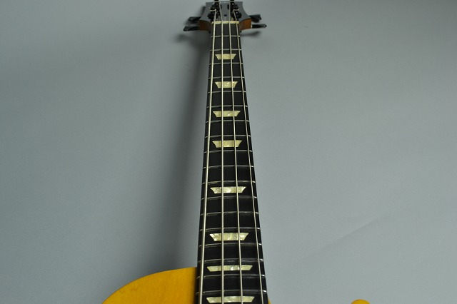 Les paul deluxe bassの指板画像