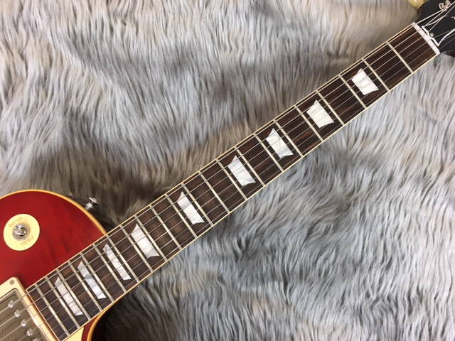 True Historic 1959 Les Paul Reissueの指板画像
