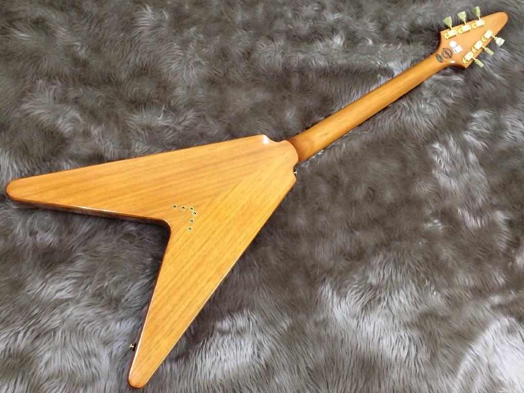 Ltd Ed Korina Flying-Vのボディバック-アップ画像
