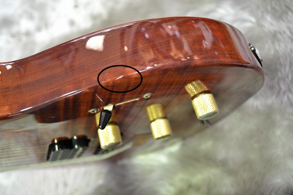 LGX MIDIの指板画像