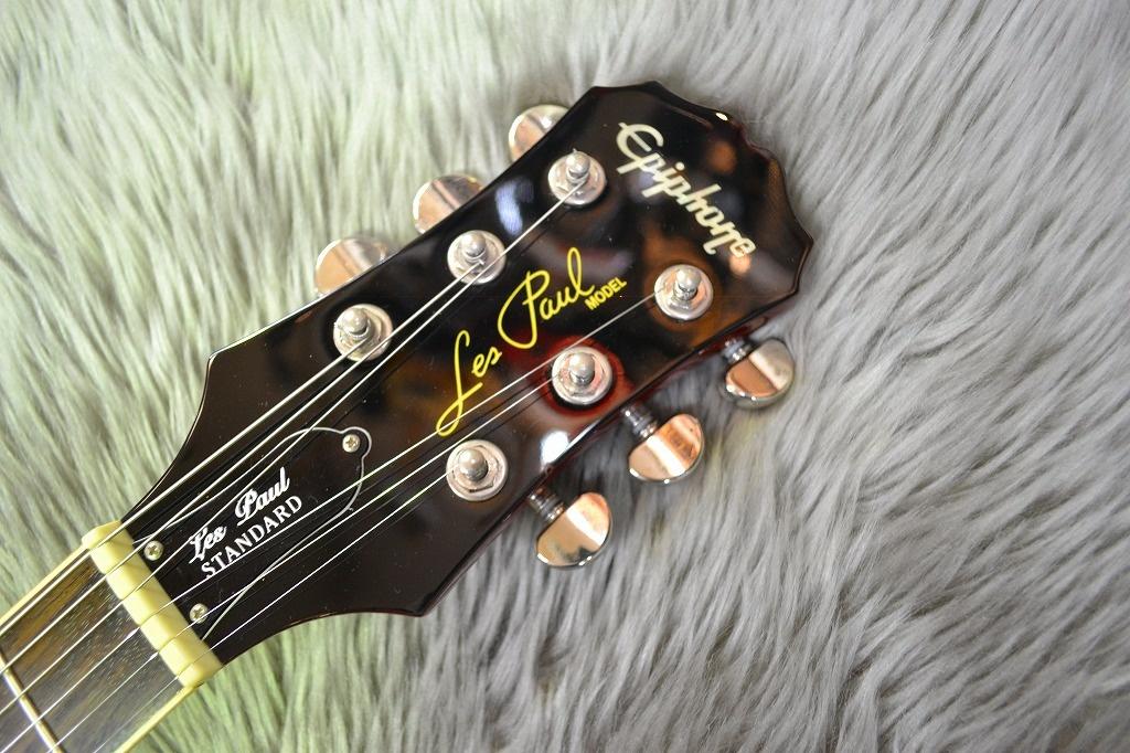 Les Paul Standardのヘッド裏-アップ画像