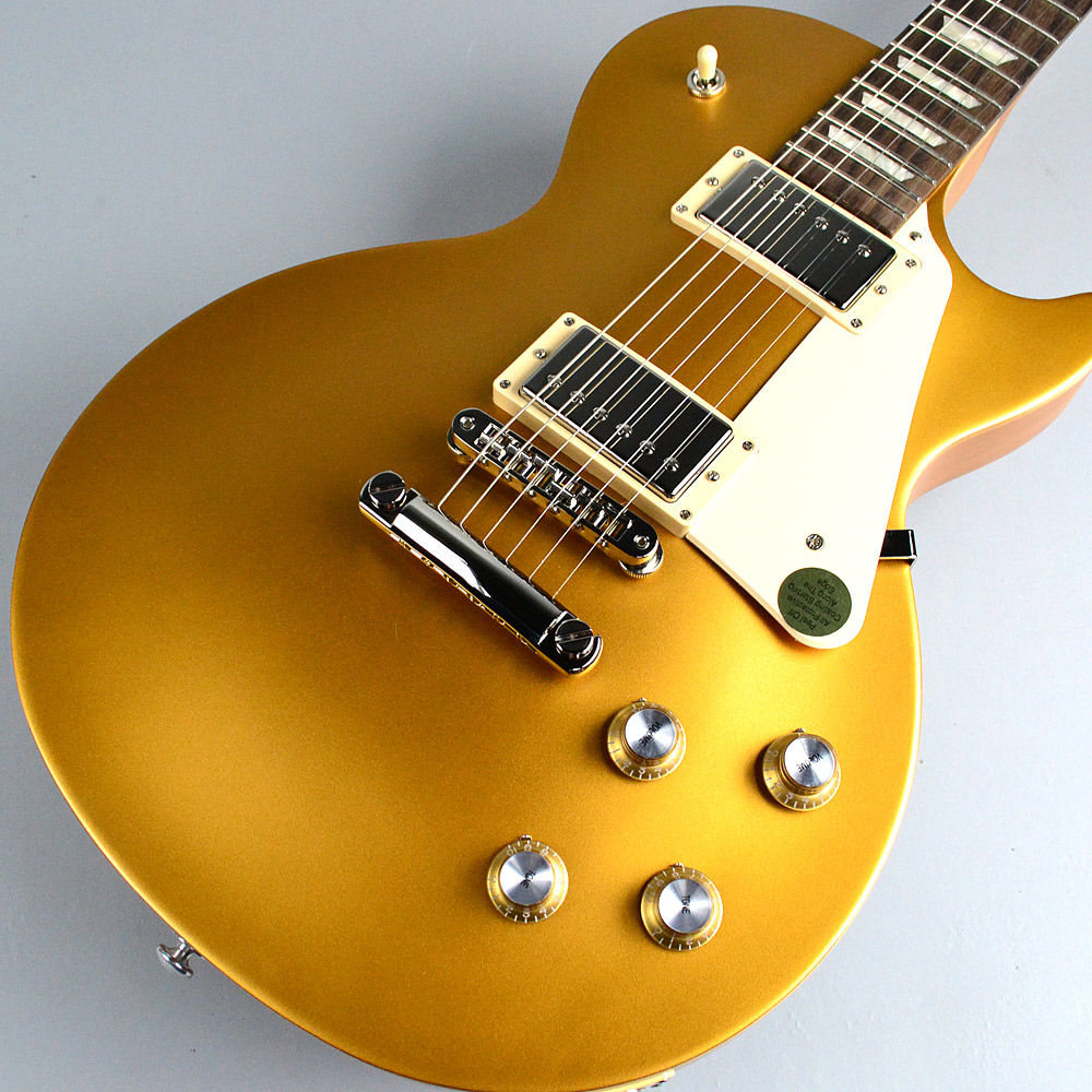 Les Paul Tribute T 2017/SatinGoldTopの全体画像(縦)
