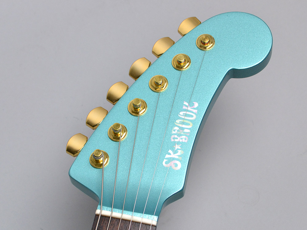 The SK★BROOK / SHARK GUITARのヘッド画像