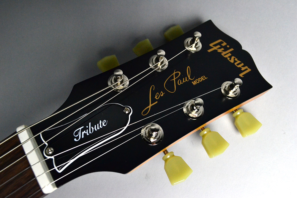 Les Paul Tribute T 2017/SatinGoldTopのヘッド画像
