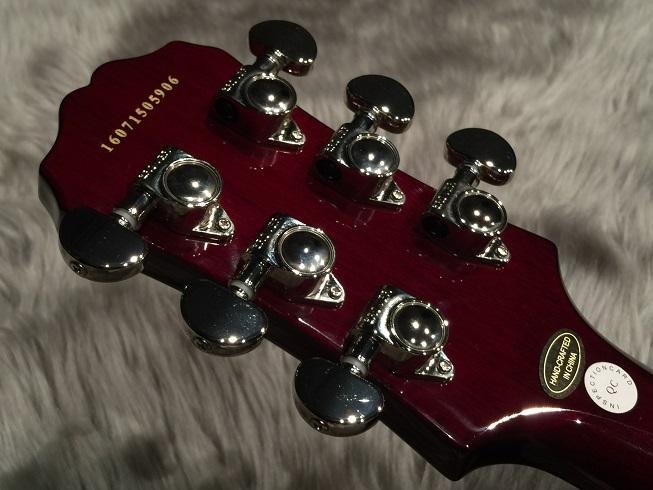 Les Paul Standard  PlusTop PROのヘッド裏-アップ画像