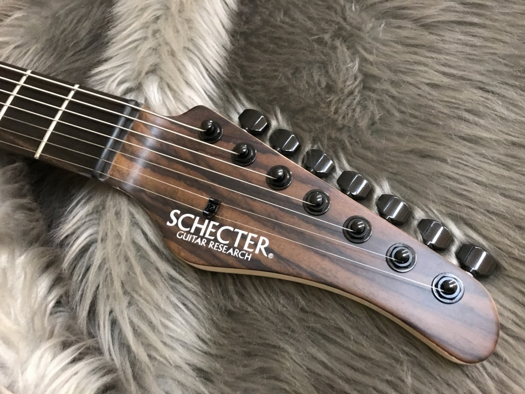 SCHECTER NV-7-24-MH-FXD/RNT/Eのヘッド裏-アップ画像