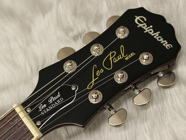 Les Paul Standard MGのヘッド画像