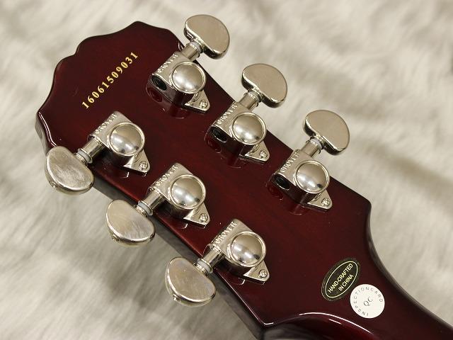 Les Paul Standard MGのヘッド裏-アップ画像