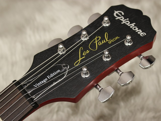 Les Paul Special VEのヘッド画像