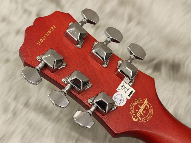 Les Paul Special VEのヘッド裏-アップ画像