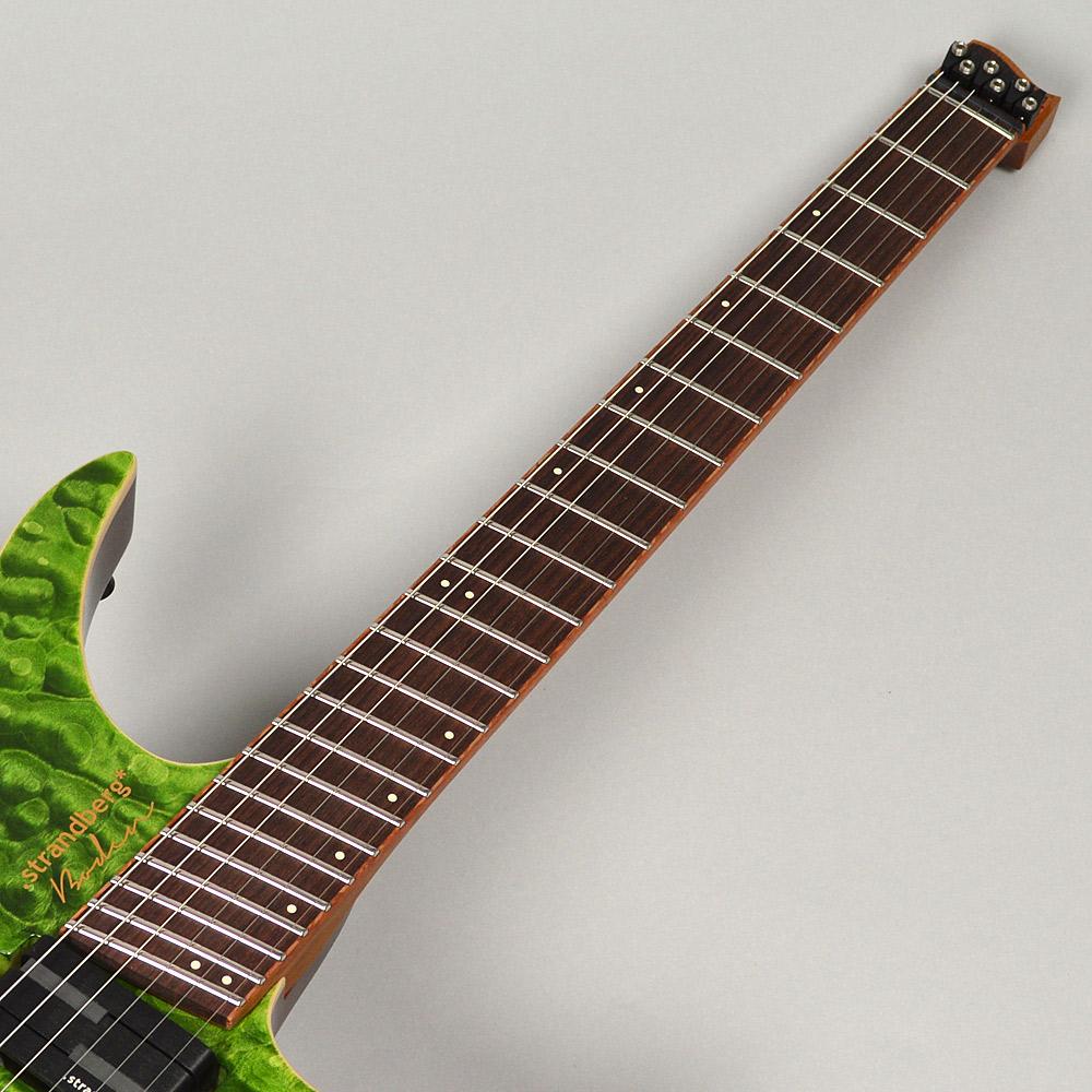 Boden J6 Standard / R / Light Greenの指板画像