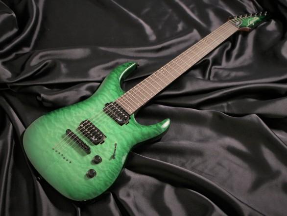 N7-200 Gloss Emerald Burst QM