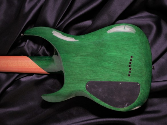 N7-200 Gloss Emerald Burst QMのボディバック-アップ画像