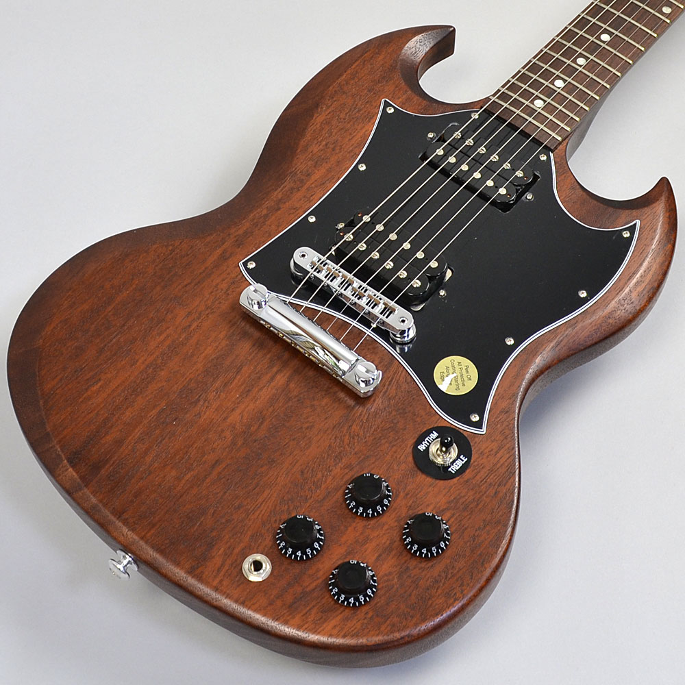SG Special Faded 2016 Worn Brownのボディトップ-アップ画像