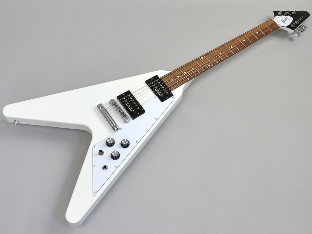 Flying V 2017 T Alpine White