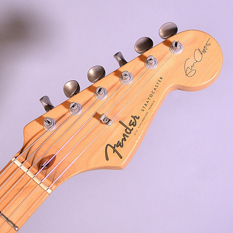 USED/Fender Eric Clapton Stratocaster Lace Sensorのヘッド画像
