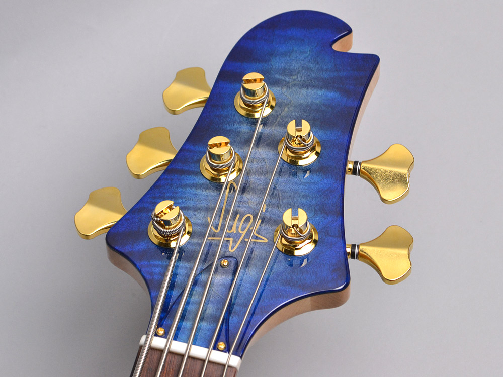 NB5HR EM/ASH Bat inray【Luthier's Model】のヘッド画像